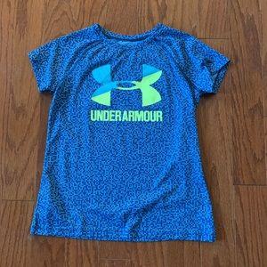 Kids Under Armour workout shirt
